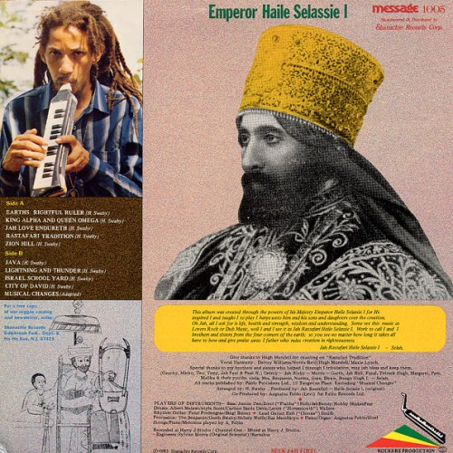 Augustus Pablo - Earth's Rightful Ruler (ORIGINAL PRESS)   Message   1978-1982 B